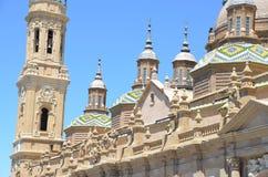 Basilika del pilar Stockbild