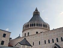 Basilika der Anzeige, Nazareth, Israel lizenzfreie stockfotografie