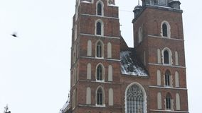 Basilika der Heiliger Maria stock video