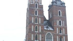 Basilika der Heiliger Maria stock footage