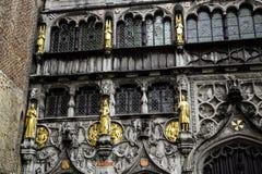 Basilika des Bluts in der Stadt von Brügge stockfotografie
