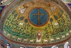 Basilika des Heiligen Apollinaris in Classe, Italien Lizenzfreie Stockfotografie