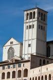 Basilika des Heiligen Franziskus, Assisi, Lizenzfreie Stockfotos