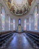 Basilika des heiligen Herzens bei Notre Dame lizenzfreie stockfotos