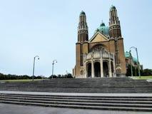 Basilika des heiligen Herzens in Brüssel lizenzfreies stockbild