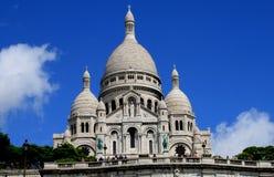 Basilika des heiligen Herzens (Paris) Stockbilder