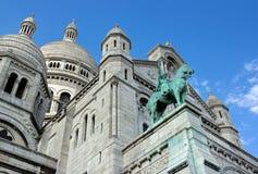 Basilika des heiligen Herzens, Sacré Cœur de Montmartre Paris lizenzfreies stockbild