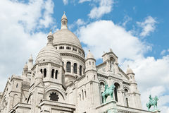 Basilika des heiligen Herzens von Jesus, Montmartre, Paris, Frankreich Stockbilder
