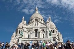 Basilika des heiligen Inneren von Jesus von Paris Lizenzfreie Stockfotografie