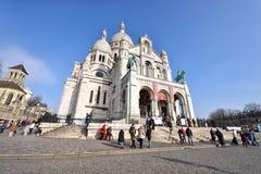Basilika des heiligen Inneren von Paris Stockfotografie