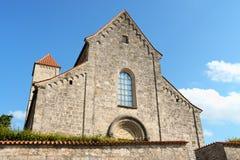 Basilika des Heiligen Michael in Altenstadt, Deutschland Lizenzfreies Stockfoto