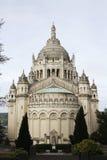 Basilika des Heiligen Therese von Lisieux stockbilder
