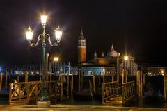 Basilika Di San Giorgio Maggiore i Venedig Arkivfoton