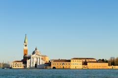 Basilika di San Giorgio Maggiore, Venedig, Italien fotografering för bildbyråer
