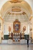 Basilika di Sant' Apollinare Nuovo Royaltyfri Fotografi