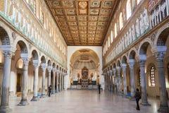 Basilika di Sant' Apollinare Nuovo Royaltyfri Foto