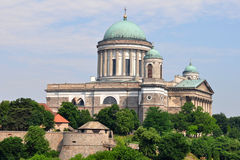 Basilika Esztergom, Ungarn lizenzfreie stockbilder