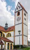 Basilika för St Mang, Fussen Royaltyfria Foton