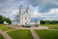 Basilika i Aglona, Lettland Arkivfoto