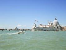Basilika i Venedig - Italien Arkivbilder