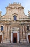 Basilika-Kathedralen-Kirche von Monopoli Puglia Italien lizenzfreie stockfotos
