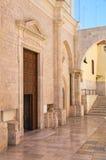 Basilika-Kirche von St. Sepolcro Barletta Puglia Italien lizenzfreie stockfotografie