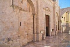 Basilika-Kirche von St. Sepolcro Barletta Puglia Italien lizenzfreies stockbild
