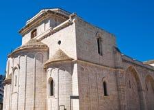 Basilika-Kirche von St. Sepolcro Barletta Puglia Italien stockfotos