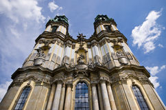 Basilika in Krzeszow, Poland Royalty Free Stock Photo