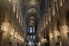 Basilika Notre Dame Arkivbilder