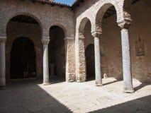 Basilika in Porec Stockbilder