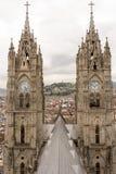 Basilika Quito lizenzfreies stockfoto