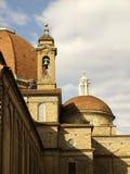 Basilika S.Lorenzo i Florence Royaltyfria Bilder