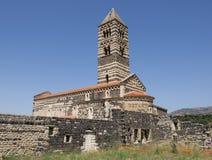 Basilika Saccargia Lizenzfreies Stockfoto