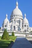 Basilika Sacré Coeur in Montmartre, Paris, Frankreich Stockfotografie