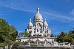 Basilika Sacre Coeur in Paris Lizenzfreie Stockfotos