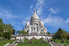 Basilika Sacre Coeur in Paris Lizenzfreie Stockfotografie