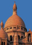 Basilika sacre couer montmartre Paris Frankreich Lizenzfreie Stockbilder
