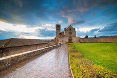 Basilika San Francesco stockfotos
