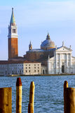 Basilika San Giorgio Maggiore - Venezia Royaltyfri Fotografi