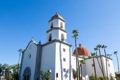 Basilika San Juan Capistrano Arkivbilder