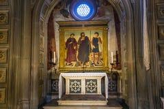 Basilika-San Miniato-Al Monte, Florenz, Italien Lizenzfreie Stockfotos