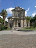 Basilika San Sebastiano Arkivfoto