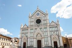 Basilika Santa Croce arkivbild