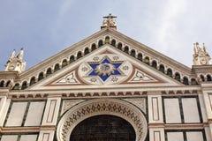 Basilika-Santa- Crocefassade Florenz Lizenzfreies Stockbild