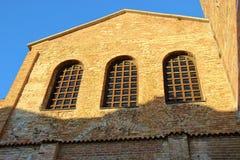 Basilika Santa Eufemia i Grado, Italien Royaltyfri Fotografi