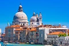Basilika-Santa Maria della Gruß in Venedig, Italien Lizenzfreie Stockfotos