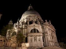 Honnör för BasilicaSanta Maria della, Venedig, Italien Arkivfoto
