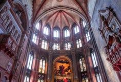 Basilika-Santa Maria-gloriosa dei Frari, Venedig, Italien Stockfoto