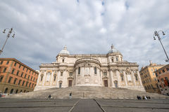 Basilika Santa Maria Maggiore Rome Stockfotografie